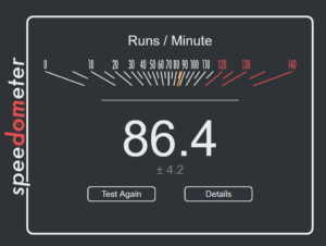 GoogleChromeの速度・重さ・ベンチマーク検証