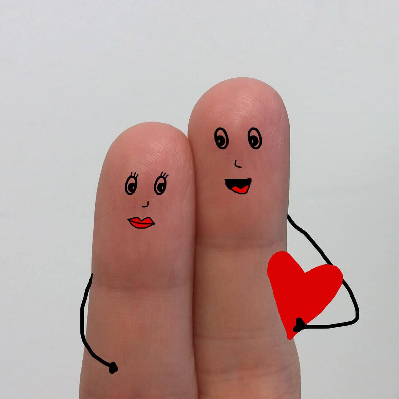 夫婦のゆび