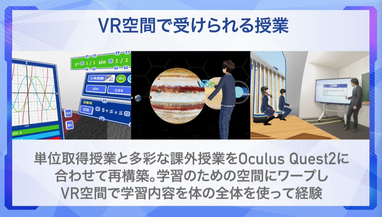 VR空間での授業