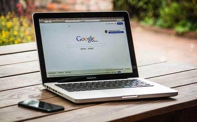 MacBookのGoogleChrome
