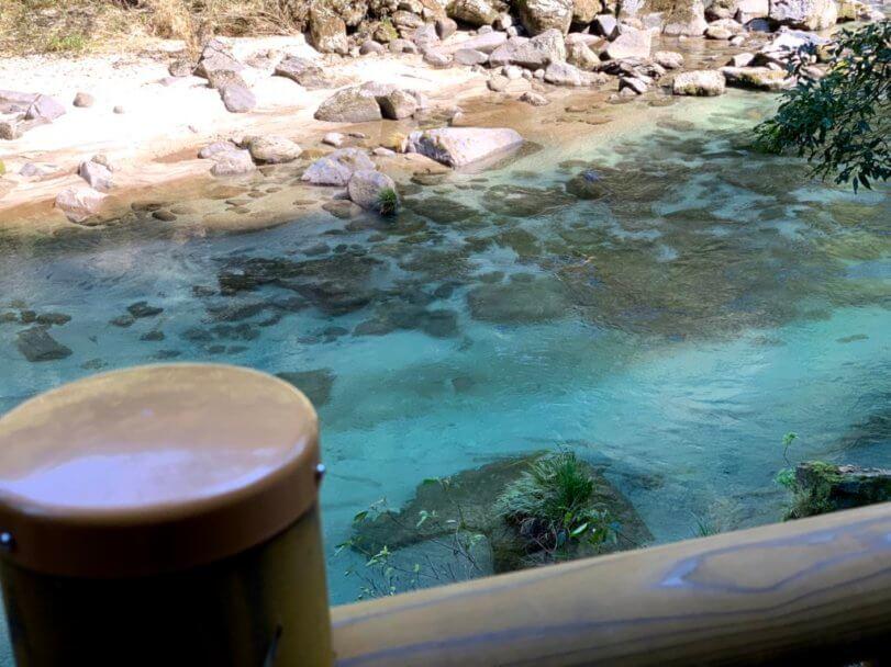 雄川の滝川