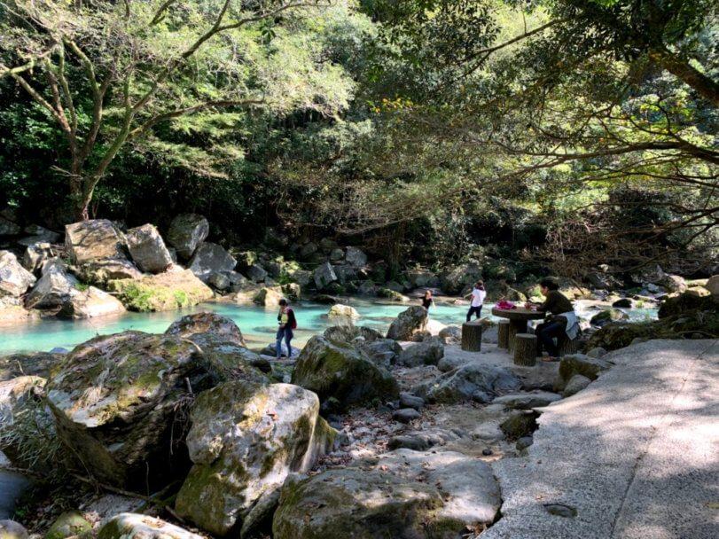 雄川の滝川3