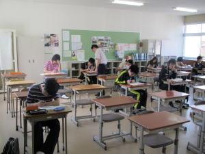 聖光高校の授業の写真