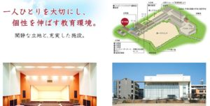 大阪向陽台高校の施設