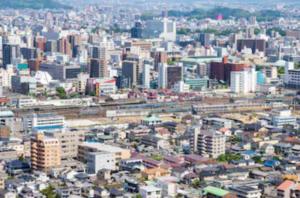 愛媛県松山市の風景
