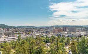 島根県松江市の風景