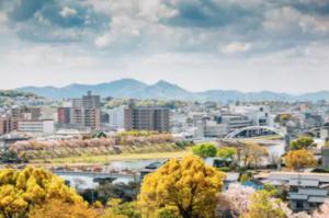 岡山県岡山市の風景