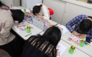 高松中央高等学校の体験学習の画像