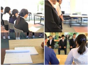 霞ヶ関高等学校は進路決定率93%の画像