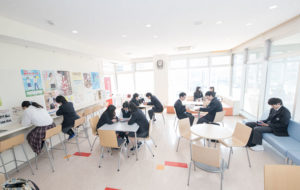 ぎふ国際高等学校の設備例
