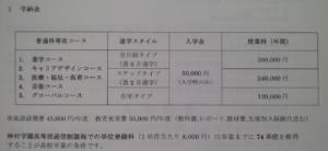 神村学園高等部の学費の画像