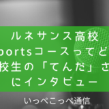 ルネサンス高校e-Sportsコースってどう?在校生の「てんだ」さんにインタビュー (2)