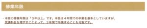 愛知県立旭陵高等学校の修業年限