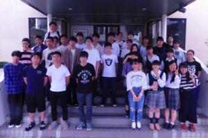 神村学園高等部年に1度、鹿児島の本校でスクーリングの画像