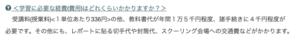 松山東高校学費の画像