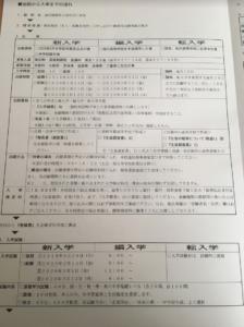 京都廣学館高等学校の募集要項