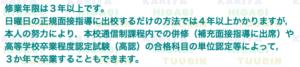 愛知県立刈谷東高等学校の修業年限