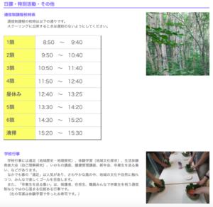 高田南城高校資料の画像
