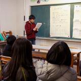 天龍興譲高等学校の課題探求学習の画像