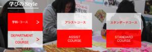 神須学園高等学校の学科・コース・カリキュラムの画像