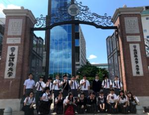 並木学院福山高等学校の学校行事がさかんな週4日制コースの画像